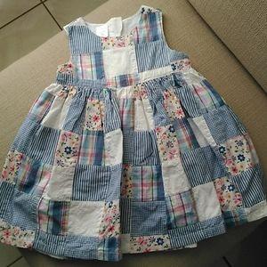 Baby Gap Patchwork Dress 18-24m